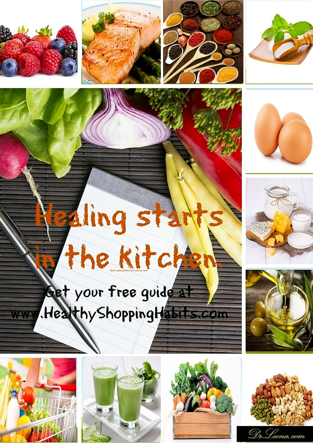 a journey to healing food shopping guide